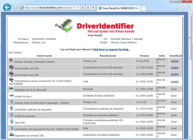 DriverIdentifiler