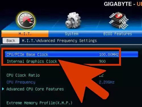 Increase the base clock by 10%