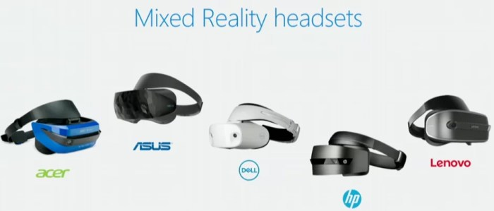 Mixed Reality Handset of windows 10