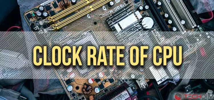 Clock Rate of CPU