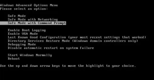 Command Boot On Dos Mode