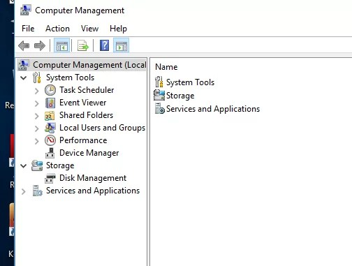 Computer Management Page