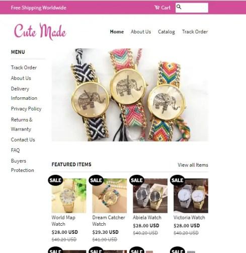 CuteMade Women's Watches