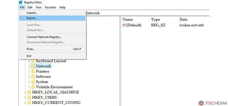 Editing Registry in Windows 1