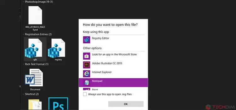 Editing Registry in Windows 3