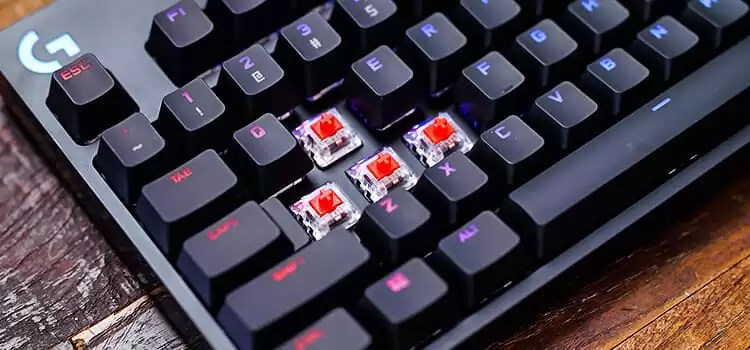 Build of Gaming Keyboards