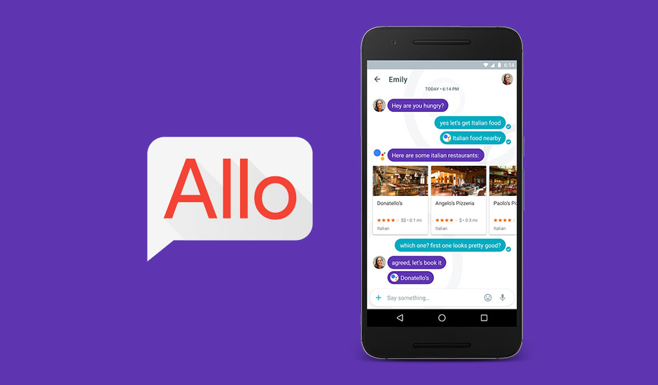Say hello to google allo google stopboris
