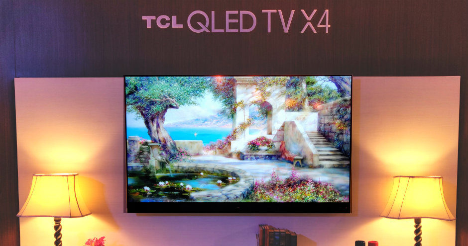 TCL 65X4 65-inch 4K UHD HDR QLED Android TV With Harman