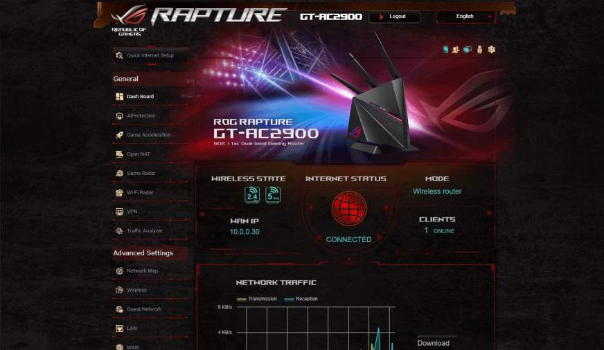 ASUS ROG Rapture GT-AC2900 Gaming Router Review