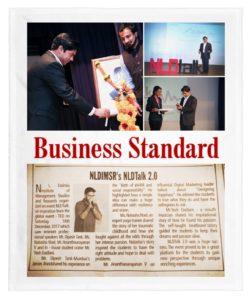 Ananth V Speaker NLD Business Standard
