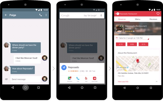 Android Marshmallow 6.0 Feature Google Now on Tap
