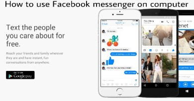 How to use Facebook messenger on computer