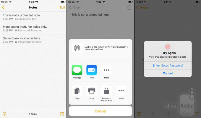 iOS 9.3 preview: Night Shift, Secured Notes and much more