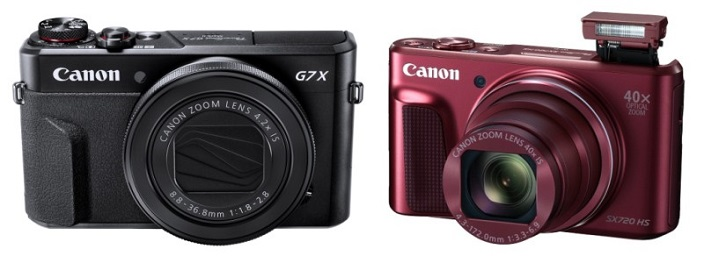 Canon announced Canon EOS 80D, PowerShot Sx720 and PowerShot G7X Mark II