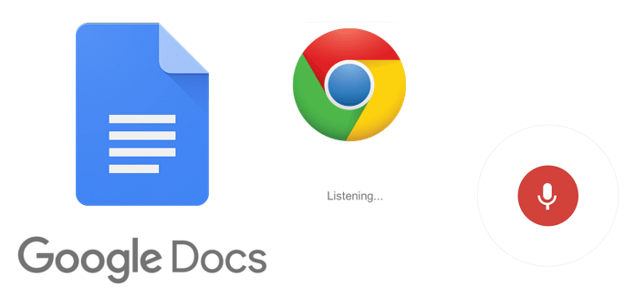 How to type in Google Docs using voice?
