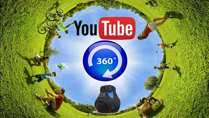 YouTube now supports 360-degree live streams and Spatial audio