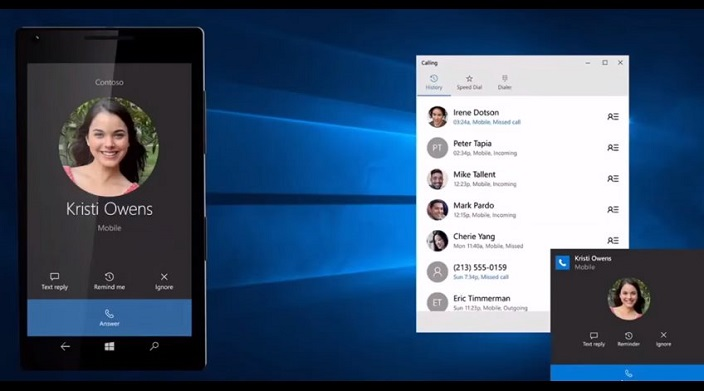 Android notifications on Windows 10