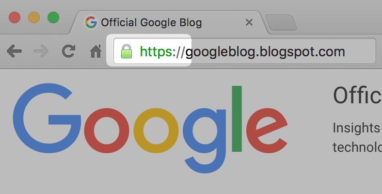 Google enables HTTPS connection for all Blogspot sites