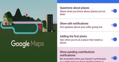 Google Maps beta version