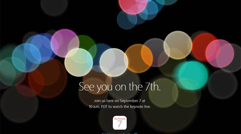 5 things that you need to know about the iPhone 7 launch