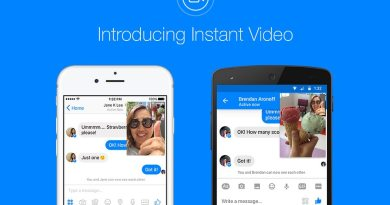 Instant Video feature in Facebook Messenger