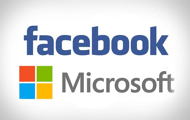 facebook microsoft