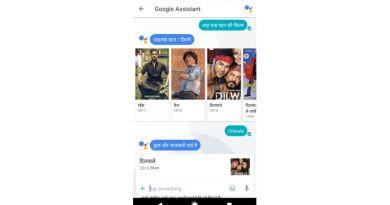 Hindi assistant in Google Allo