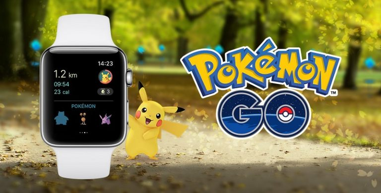 pokemon go in apple watch