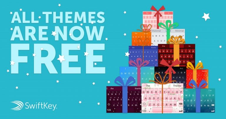all themes in swiftkey are free