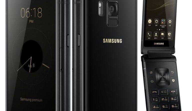 Samsung Flagship 8 SM-G9298 Android flip phone