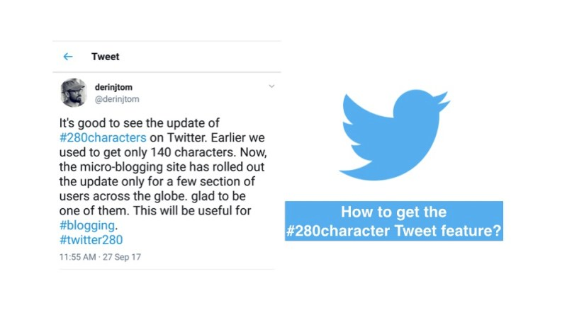 how to tweet 280 characters