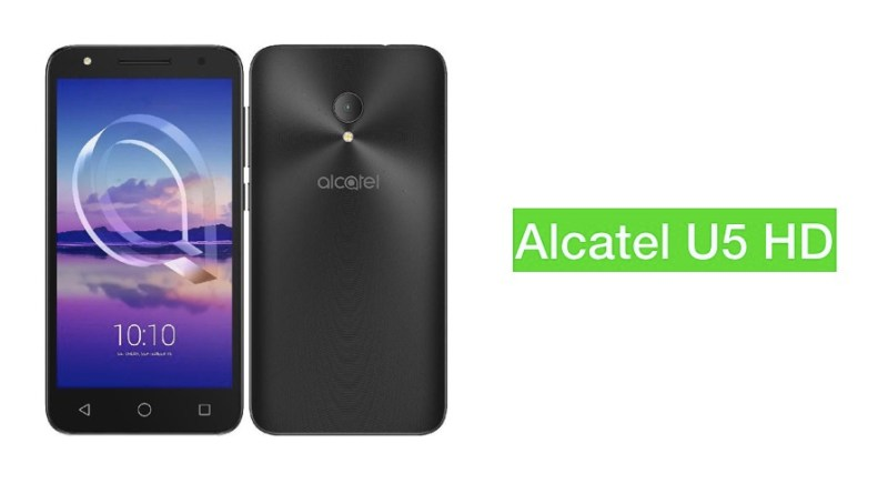 Alcatel u5 hd specifications