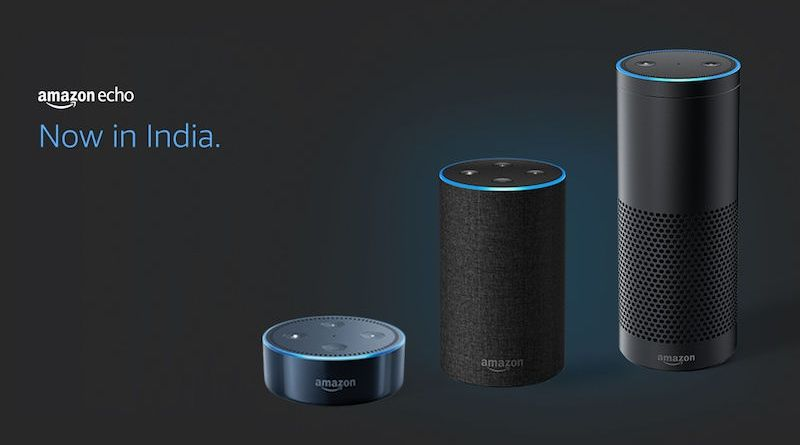 amazon echo echo dot and echo plus launched in India