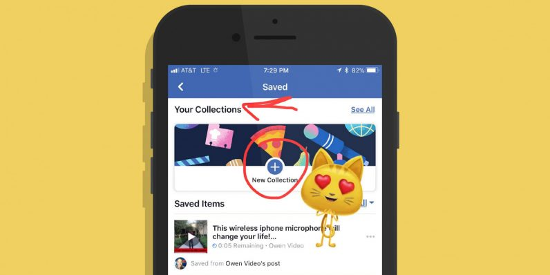 Facebook collections