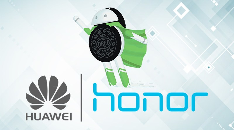 Huawei and honor android update list
