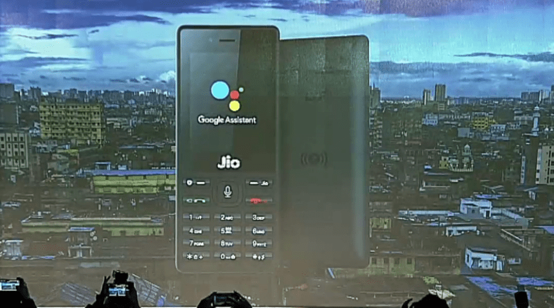 Google assistant on JioPhone