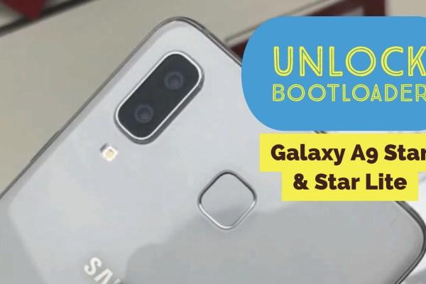 Galaxy A9 Star & Galaxy A9 Star Lite Unlock Bootloader