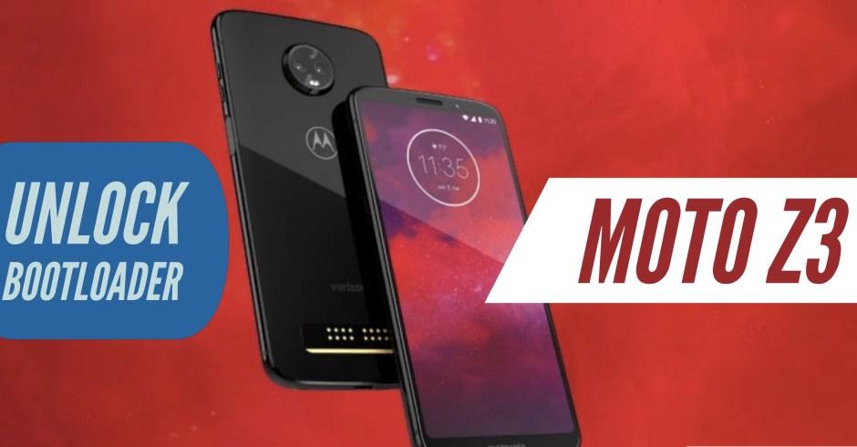 How to Unlock Bootloader on Motorola Moto Z3? UNLOCK DEVICE!