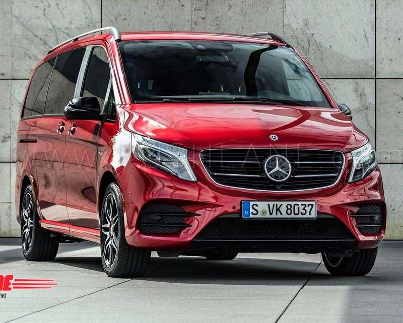 Mercedes V Class Launch