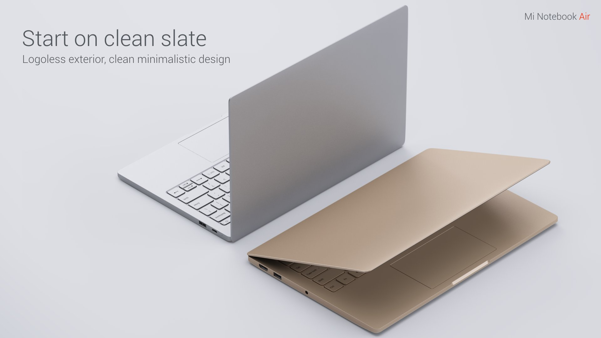 New Xiaomi mi Notebook air