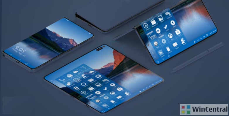 Microsoft Surface Foldable Phone