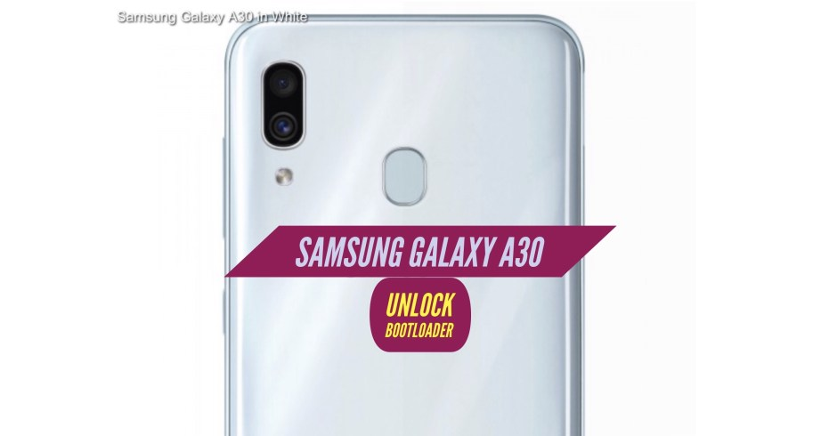 Unlock Bootloader Samsung Galaxy A30