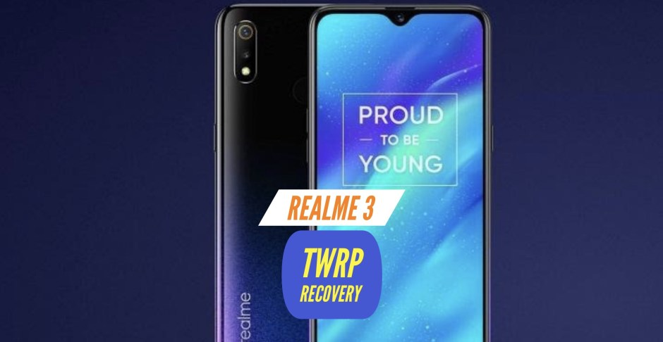 TWRP Realme 3