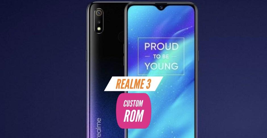 Realme 3 Custom ROM