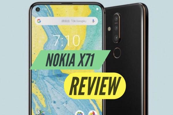 Nokia X71 Review