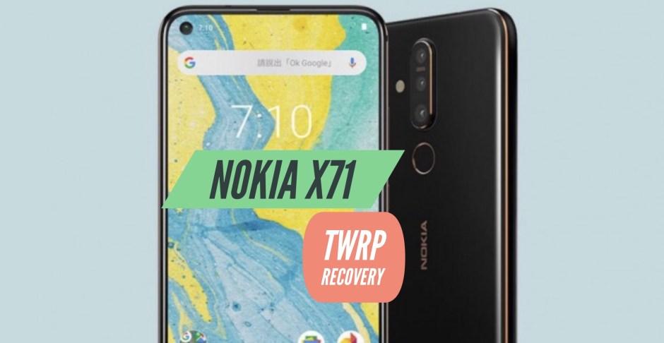 TWRP Nokia X71