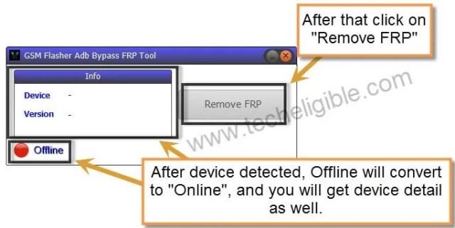One Click FRP Remove Galaxy S8 Plus