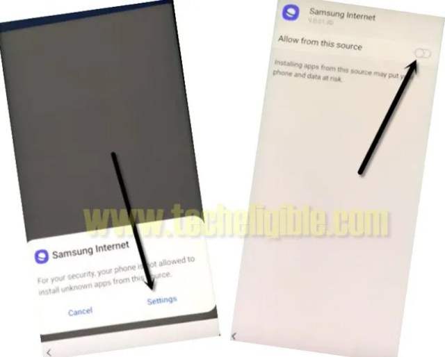 Samsung internet browser frp