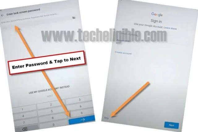 skip the google sign in screen from huawei mediapad M5 lite frp