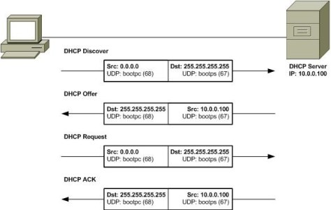 DHCP processo